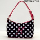 Polka Dot initial H junior girl's handbag monnogramable purse