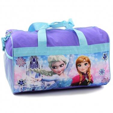 "Girls 18"" Frozen duffle bag Disney princess Anna and Elsa PK750"