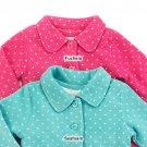 Toddler girls size 2T mint green polar sherpa lined jacket B639