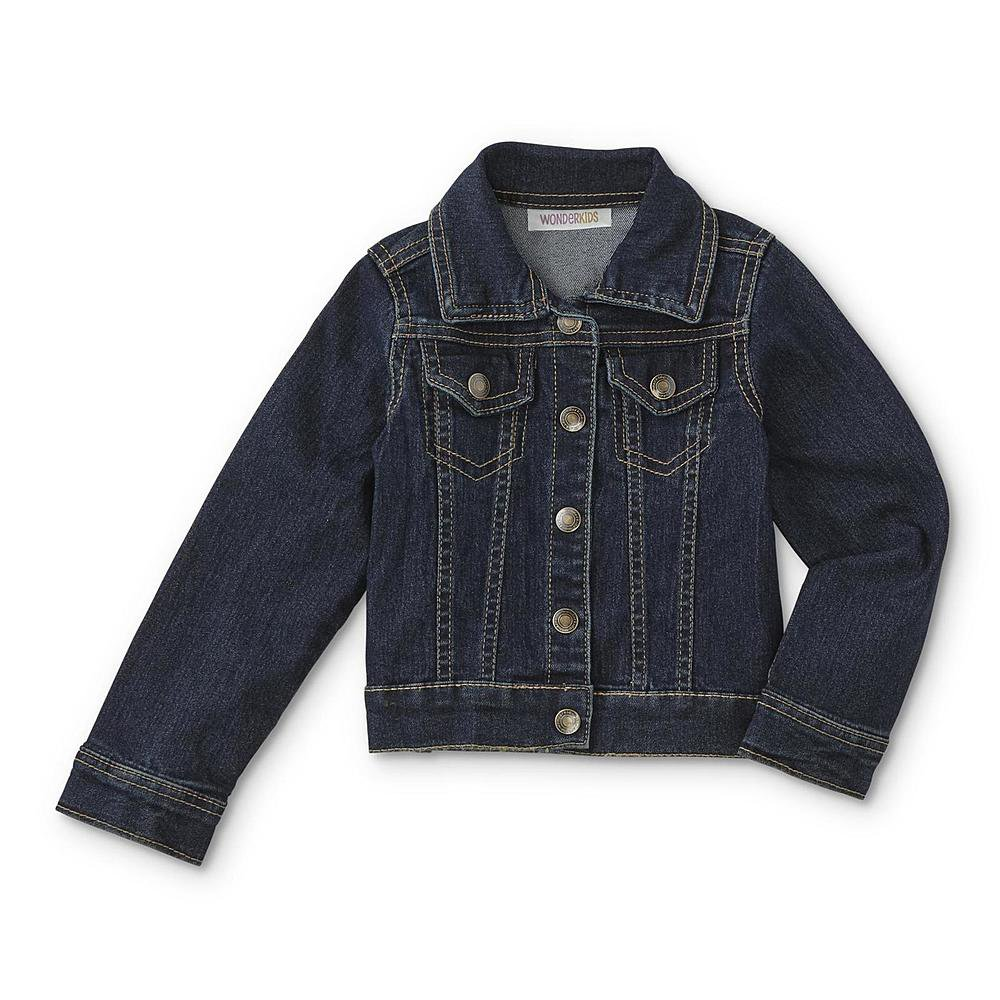 WonderKids Infant & Toddler Girls Size 12 Months Denim Jacket K509