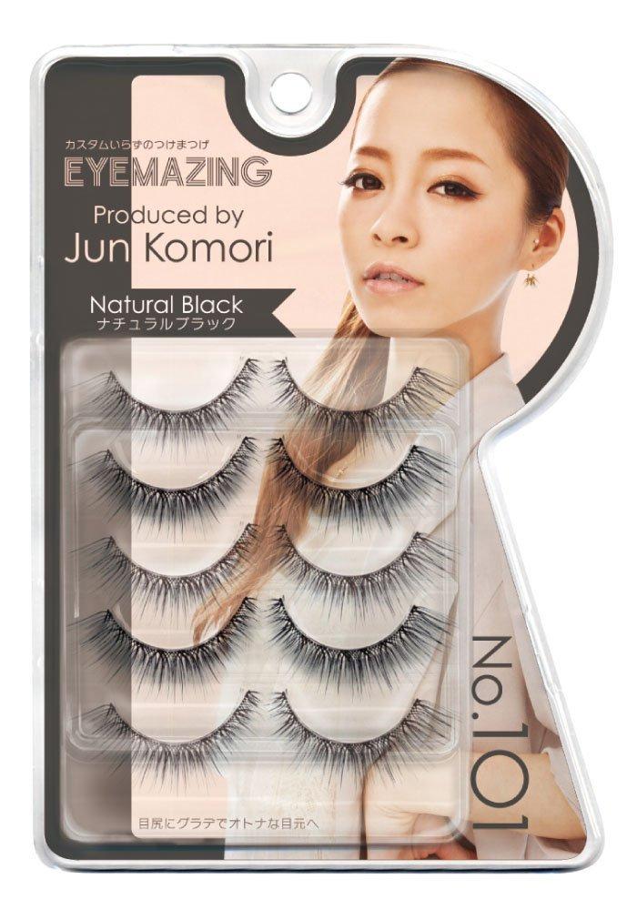 Eyemazing Jun Komori False Eyelashes- 101 Natural Black