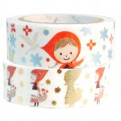 Masking Tape By Shinzi Katoh Collection Set of 2 - Red Riding Hood