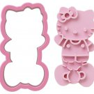Hello Kitty Toast Cutter - Sandwich Mold