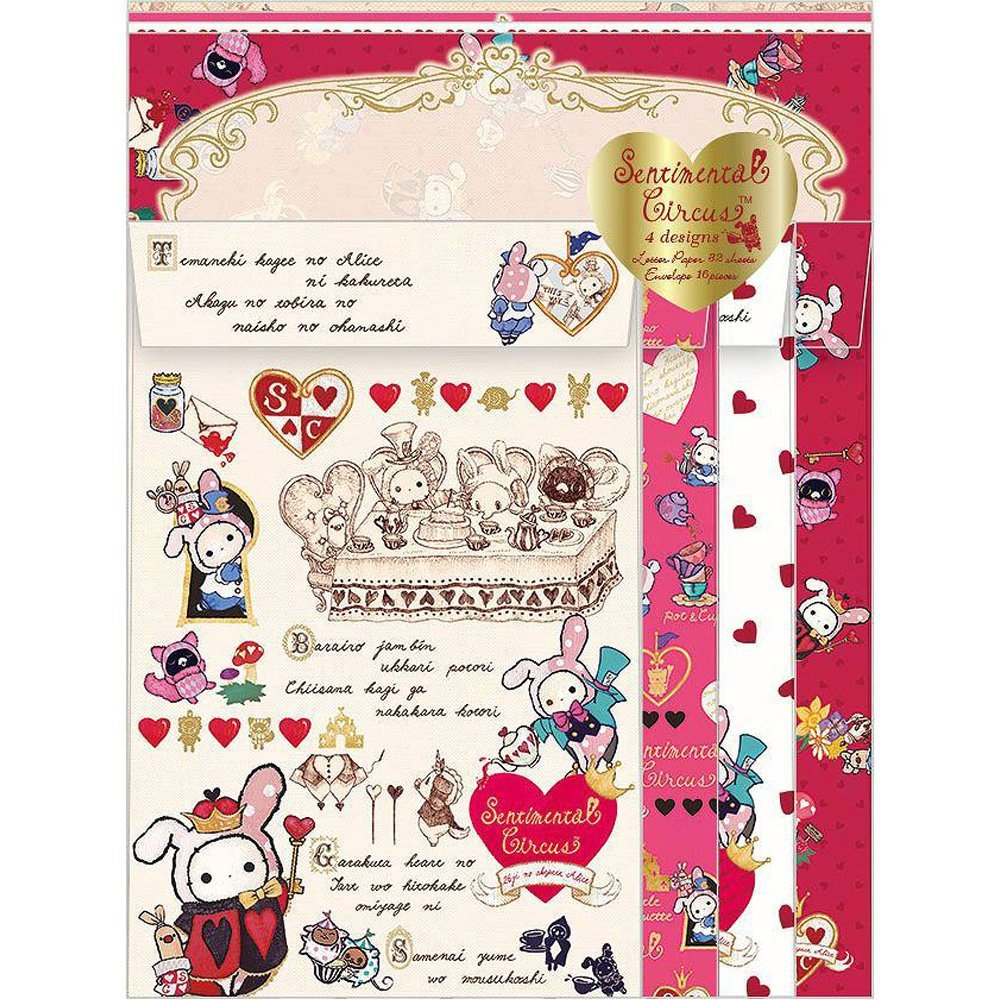 Sentimental Circus Letter Set - Queen of Heart
