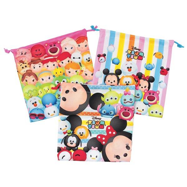 Disney Tsum Tsum Gift Wrap Bag - Assorted