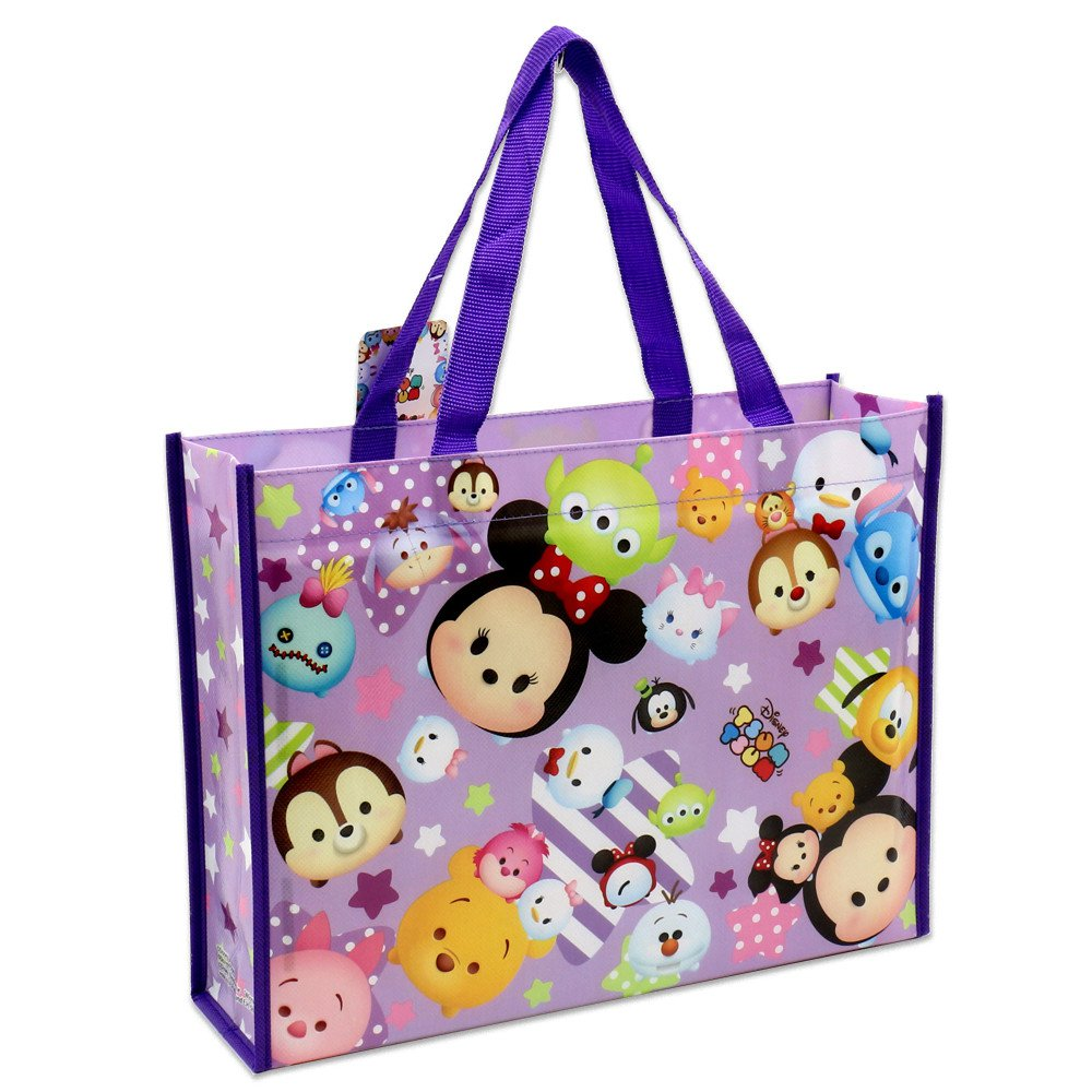 Disney Tsum Tsum Tote Bag Purple