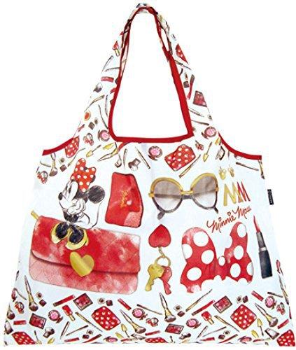 Disney Foldable Eco Bag - Belongings of Minnie Mouse