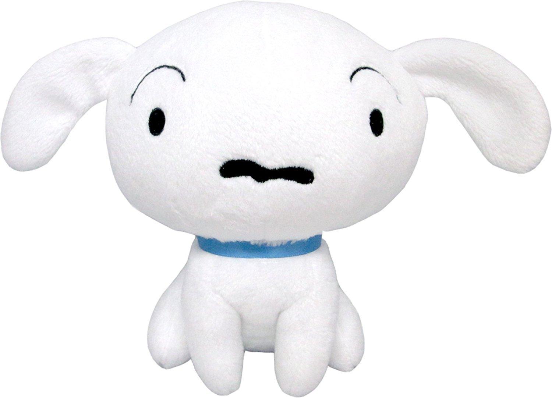 Shiro Puppie Dog from Crayon Shin-chan Plush Toy - Small Size