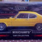 1/18 Minichamps Ford Capri RS 1970 RHD