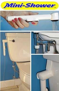 Mini Shower Diaper Sprayer