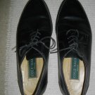 Cole Haan Mens 8.5 D Medium Black Tie Up Formal Dress Oxford Low Heel Shoes