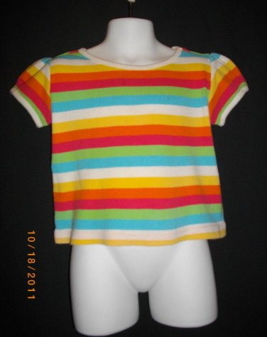 Circo 3 T Rainbow Colors Pullover Short Sleeve Tee Shirt Top T Shirt Toddlers