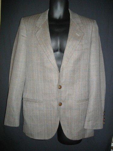 Valentino Uomo Medium M Single Breasted Jacket Blazer Sportswear Coat