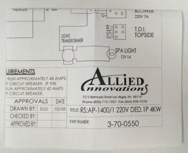 bermuda spa wiring diagram allied innovations 3 70 0550 wiring diagram ap 1400 rs 1400 1  allied innovations 3 70 0550 wiring