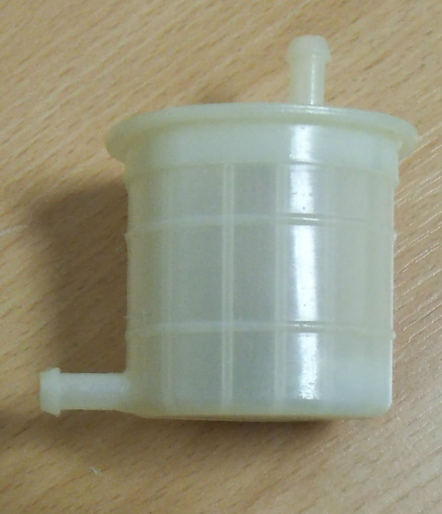 Universal Inline Fuel Filter 90 Degrees Right Angle 1 4 025 In Ford Probe Location Line 6mm New
