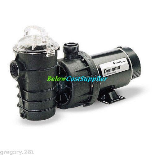 Pentair 340210 Dynamo Single Speed Aboveground 115v 1 5 Hp Pool Pump