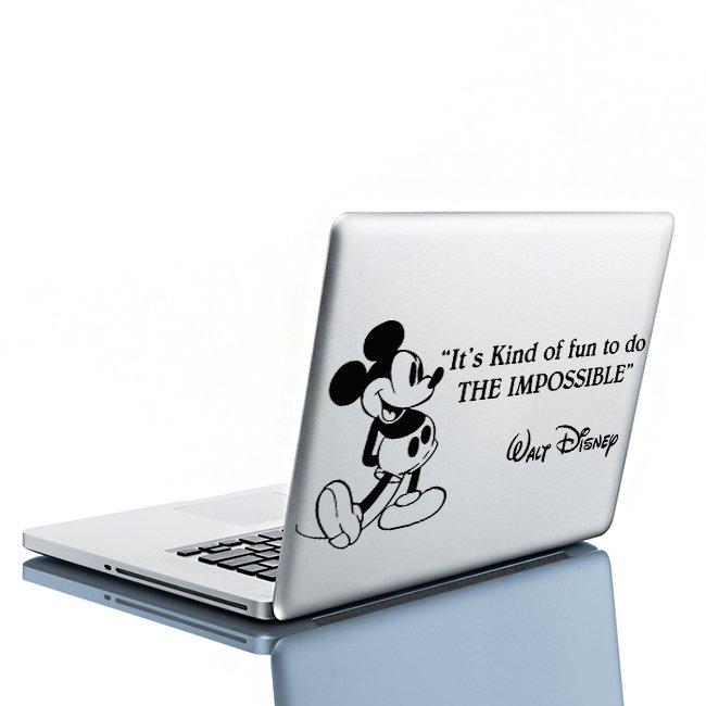 (16''x8'') Vinyl Wall Decal Mickey Mouse Walt Disney Sticker Art Decor Home + Free Decal Gift!