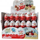 1 Box (3 Eggs) Angry Birds Joy Surprise Chocolate 20g