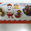 2 Boxes (6 Eggs) Marvel Surprise Chocolate