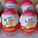 KINDER JOY CHOCOLATE - GIRL VERSION - 12PCS