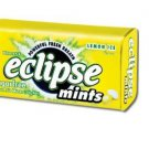 (Pack of 8) Eclipse Sugarfree Mints - Lemon Ice