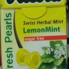(Pack of 10) Ricola Herbal Sugar-Free Lemon Fresh Mints 25g