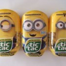 Tic Tac Despicible Me Minion Bundle, Kevin, Bob and Stuart, 3.4 oz Each