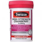 Swisse Ultiboost High Strength Cranberry 30 Capsules (Australia Import)