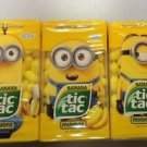 Tic Tac Limited Edition Despicible Me Minion Bundle, Kevin, Bob and Stuart, 49g