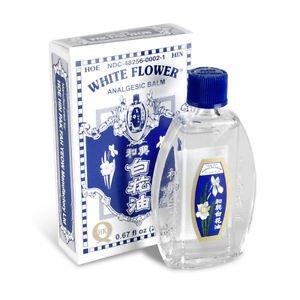 3 bottles of Hoe Hin White Flower Oil 20ml