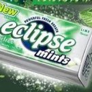 (Pack of 8) Eclipse Sugarfree Mints - Lime