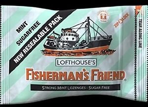 (Pack of 12) Fisherman's Friend 25g SF Mint