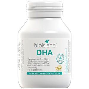 Bio Island DHA 60 Capsules (Australia Import)