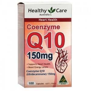 Healthy Care CoEnzyme Q10 150mg 100 Capsules (Australia Import)