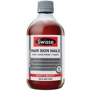 Swisse Ultiboost Hair Skin Nails 500ml (Australia Import)