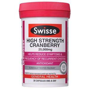 Swisse Ultiboost High Strength Cranberry 30 Capsules