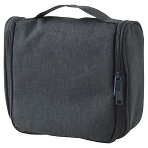Muji Hanging Travel Case - Mélange Charcoal