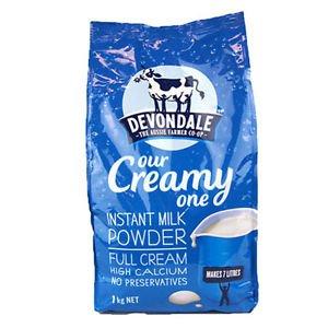 Devondale Instant Full Milk Powder 1kg (Australia Import)