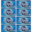 (Pack of 8) Eclipse Peppermint Sugarfree Mints 34g