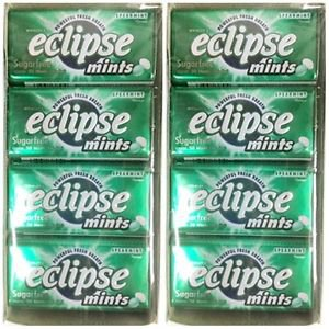(Pack of 16) Eclipse Spearmint Sugarfree Mints