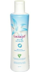 2 x LACTACYD WHITE INTIMATE 250ML