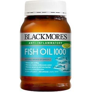 Blackmores Fish Oil 1000mg 400 Capsules (Australia Import)