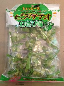 1 pack of Japanese Crisp Green Pistachio (Nuts) 2 Flavor Select 100g