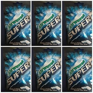 Wrigley's Airwaves Chewing Sugarfree Gum -Super (25g) x 6 packs