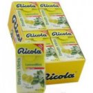 (Pack of 20) Ricola Herbal Sugar-Free Lemon Fresh Mints 25g