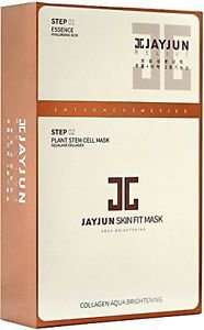 JayJun Skin Fit Aqua Brightening Mask (10pcs)  Korea Import