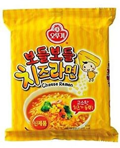 Ottogi Korean Instant Noodles Cheese Flavor 4 Packs