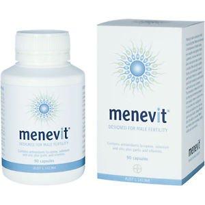 Menevit 90 Capsules - Designed for Male Fertility (Australia Import)