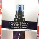 AHC A.H.C Private Hydra B5 Ampoule Mask Pack (5 sheets) 3 Step Mask Set