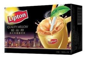 Lipton Quality Mellow Hong Kong Style 3 in 1 Milk Tea (19g x 10 sachets)